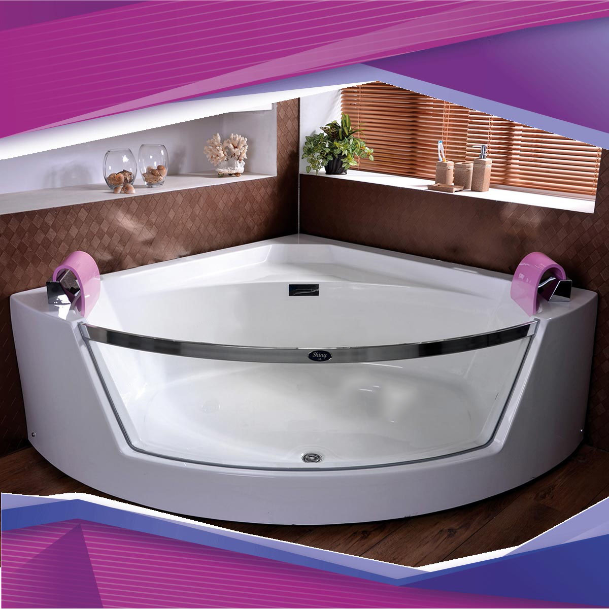 وان حمام شاینی Shiny Tub Model N-BT028